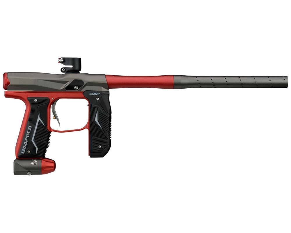 Click here to buy Empire Axe 2.0 Paintball Gun Marker Dust Grey   Dust Red by GI Sportz.