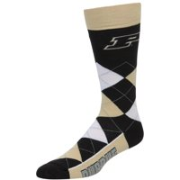 Purdue Boilermakers For Bare Feet Argyle Crew Socks - No Size