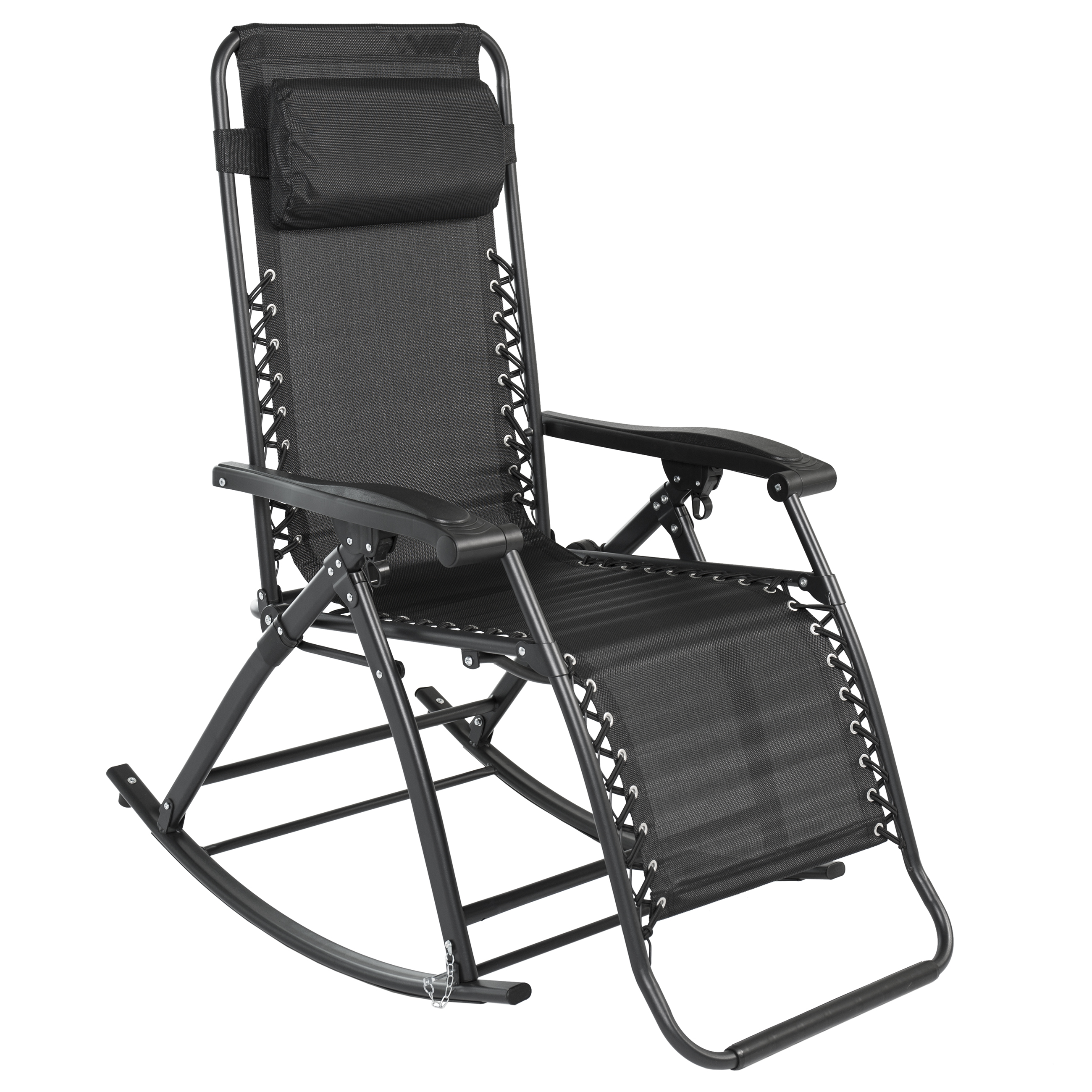Best Choice Products Zero Gravity Rocking Chair Lounge Porch Seat