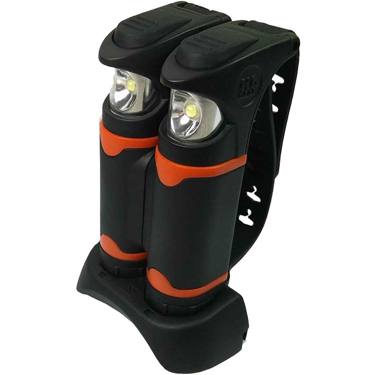 Knuckle Lights Rechargeable Handheld LED Running Safety Light Set