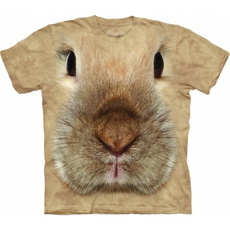 Bunny Faces - Bunny Face Adult T-Shirt - 10-3446