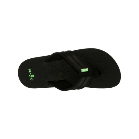 9aee1ece59b2 Sanuk Men s Land Shark Black Sandal - 11M - image 1 ...