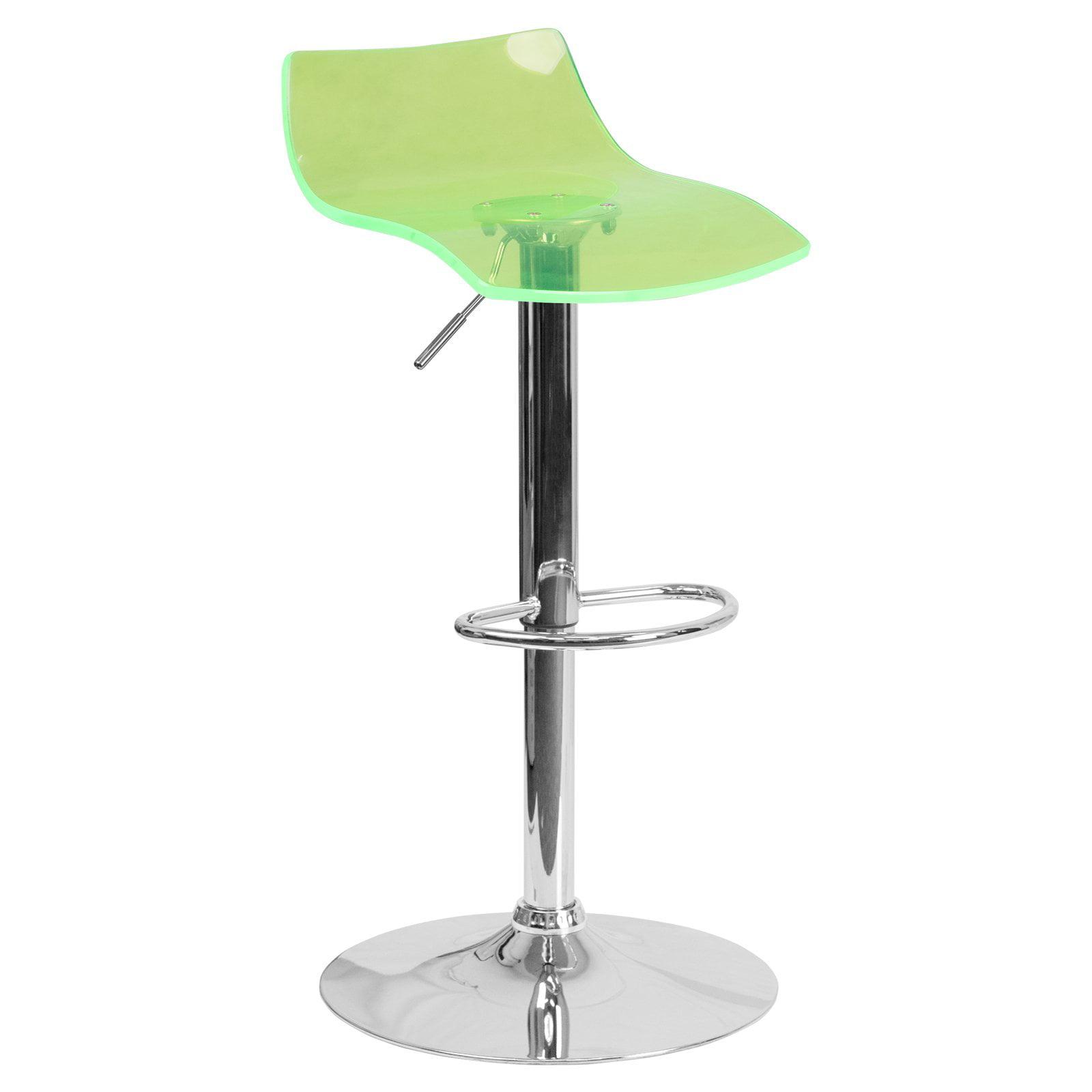 Flash Furniture Contemporary Transparent Acrylic