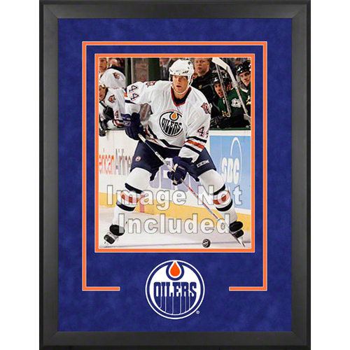 NHL - Edmonton Oilers Deluxe 16x20 Vertical Photograph Frame