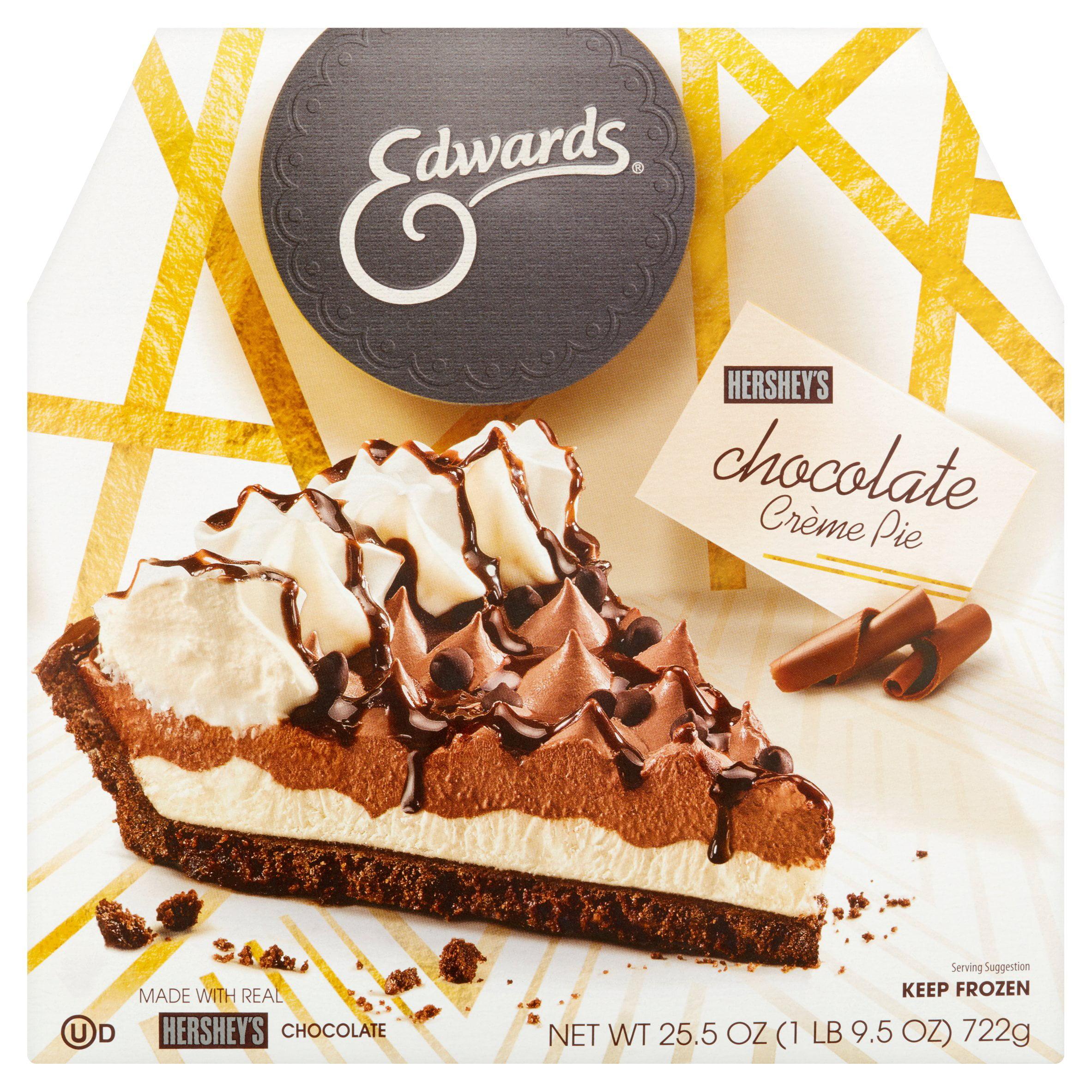 Edwards Hershey's* Creme Pie 25.5 oz. Box