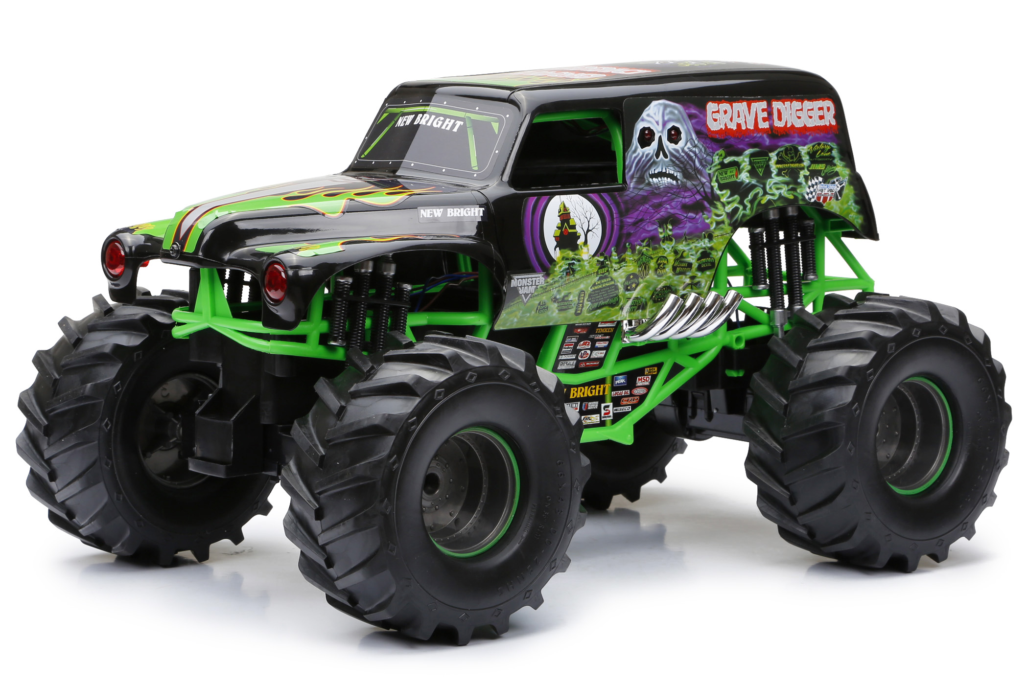 New Bright 1:10 Radio Control Full Function 9.6V Monster Jam by New Bright Industrial Co., Ltd.