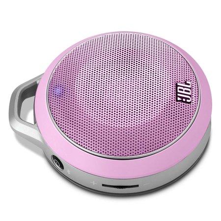 JBL Micro Wireless Pink Portable Bluetooth Speaker by