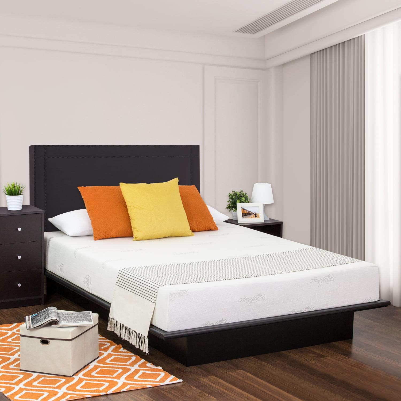 "Furinno Healthy Sleep 12"" Viscoelastic Luxury Gel Memory Foam Queen Mattress by Furinno"