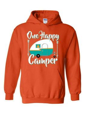 fc13c24f63ec Product Image Camping One Happy Camper Unisex Hoodie Hooded Sweatshirt