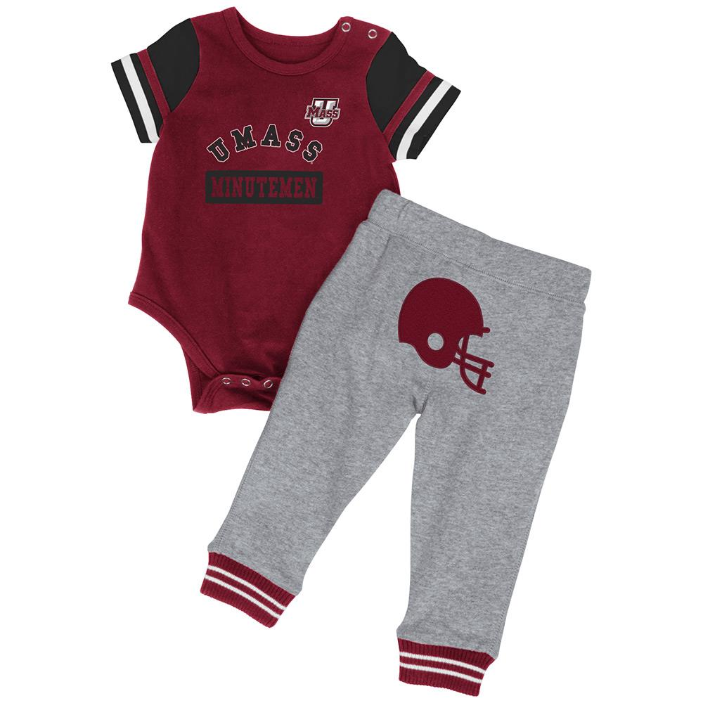 Infant NCAA UMass Minutemen Onesie and Pants Set (Team Color) by Colosseum