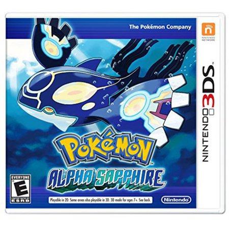 Pokemon alpha sapphire nintendo nintendo 3ds 045496742942 - Pokemon saphir pokemon legendaire ...