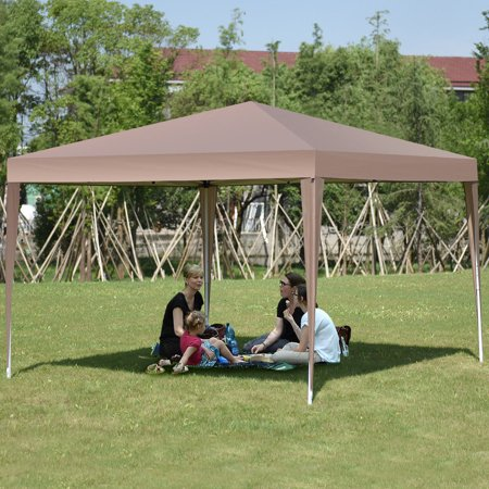 Gymax 10 x 10 FT Pop-Up Outdoor Tent Foldable Portable Shelter Gazebo Carry Bag