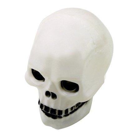 1pcs Halloween Color Changing Colorful Flash Led Skull Night Light Lamp Decoration Gift Favor Lights & Lighting