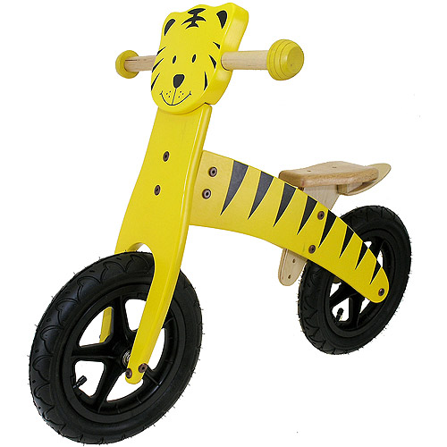 Wooden Balance Bike, Tiger