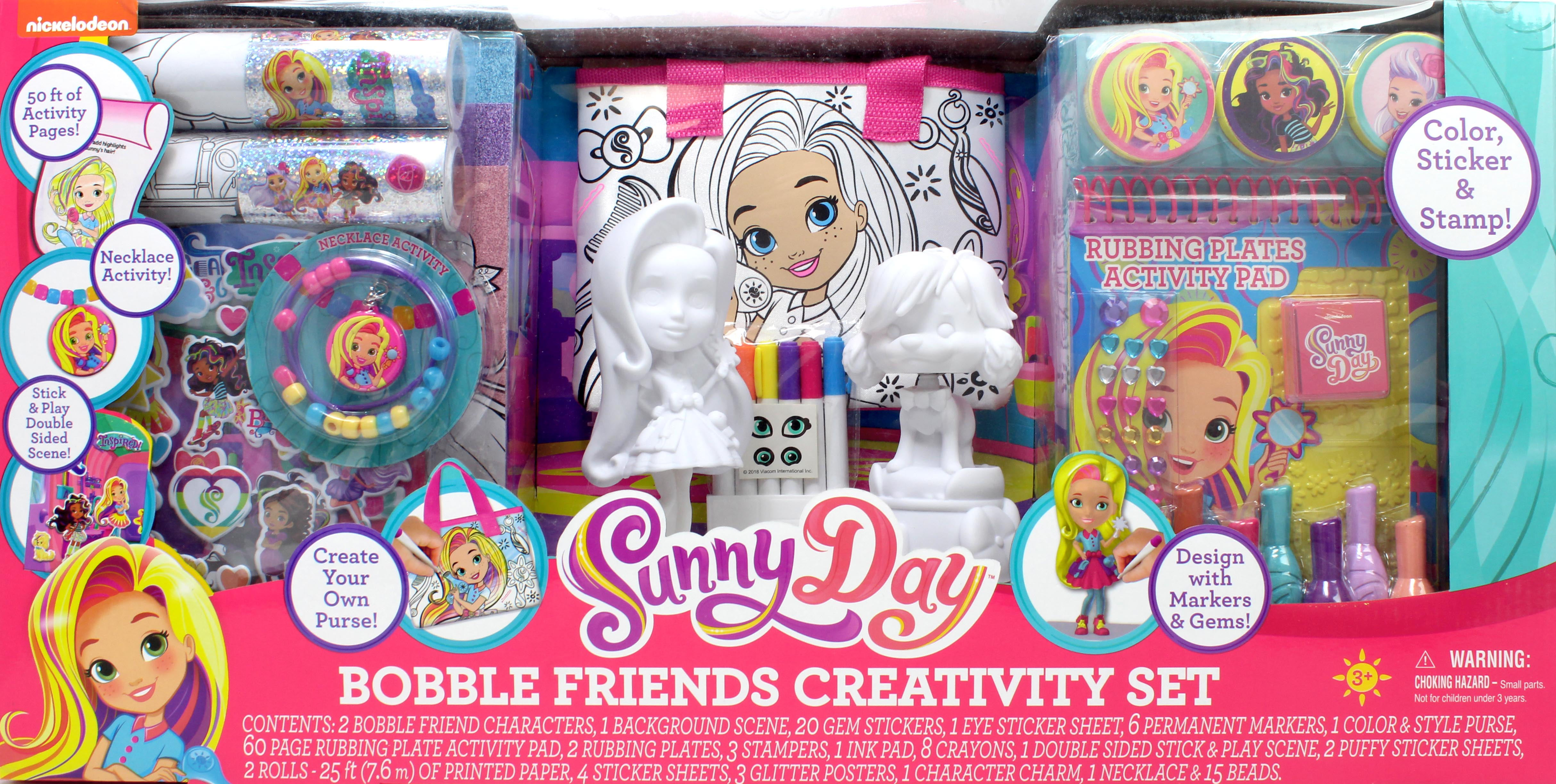 Nickelodeon Sunny Day Bobble Friends Creativity Set