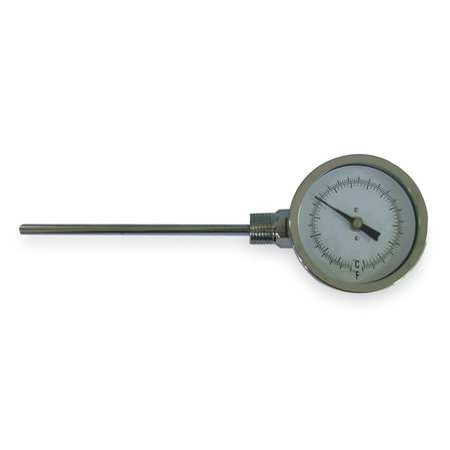 Read Dial Thermometer - Side Reading Dial Thermometer, Dwyer Instruments, BTLS360101