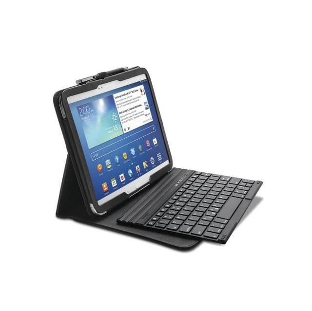Kensington K97156US KeyFolio Pro Folio 10.1 with Keyboard for Samsung Galaxy Tab 3 (Black)
