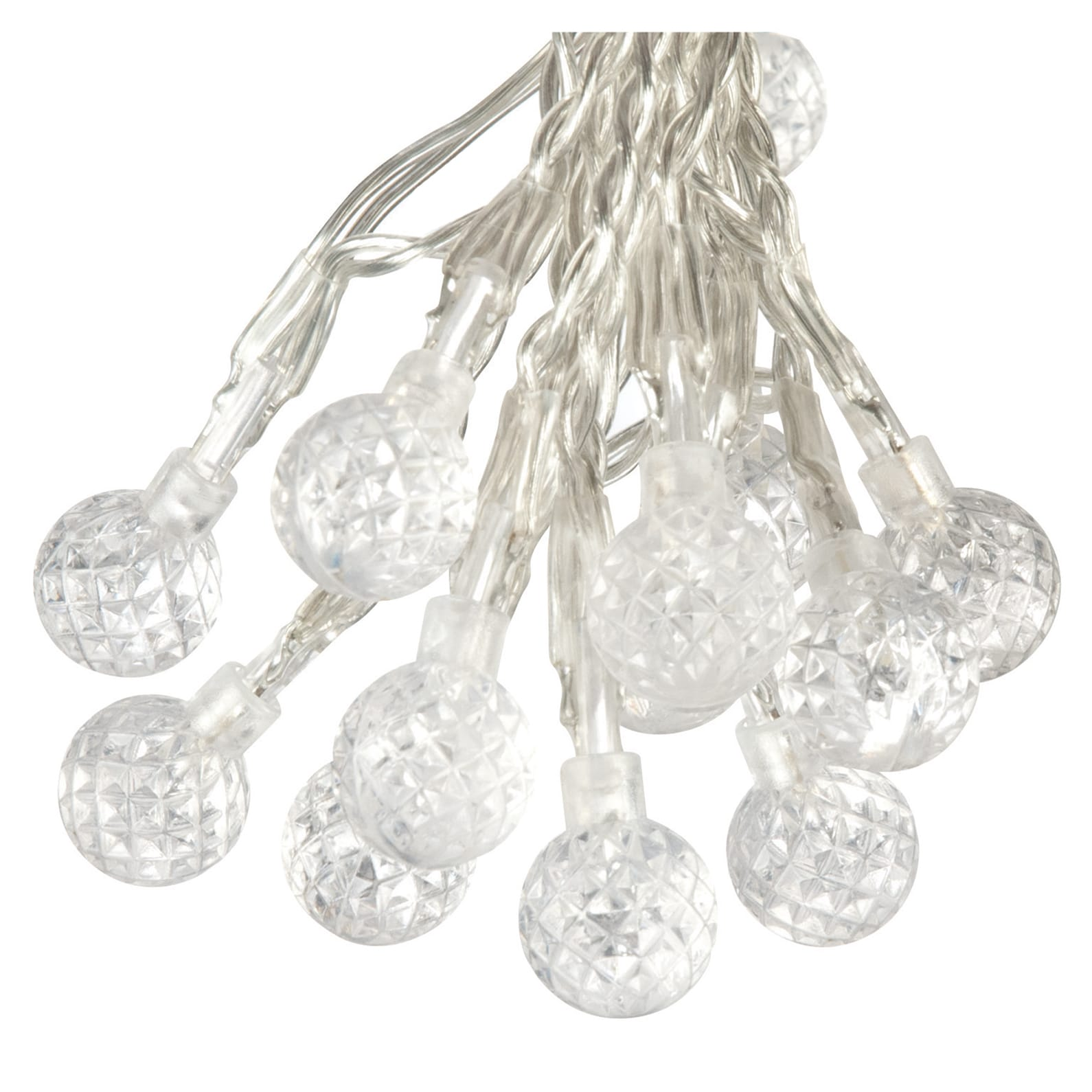 Paradise  GL23270WH50 50 LED Strawberry Bubble Outdoor String Lights