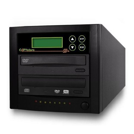 Copystars DVD-Duplicator 24X CD-DVD-Burner 1 to 1 Copier Sata Dual Layer Copy Easy Writer Tower SYS-1-1-ASUS-CST
