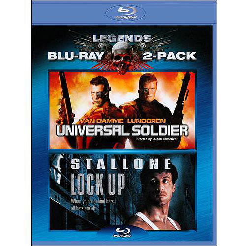 Universal Soldier / Lock Up (Blu-ray) (Widescreen)