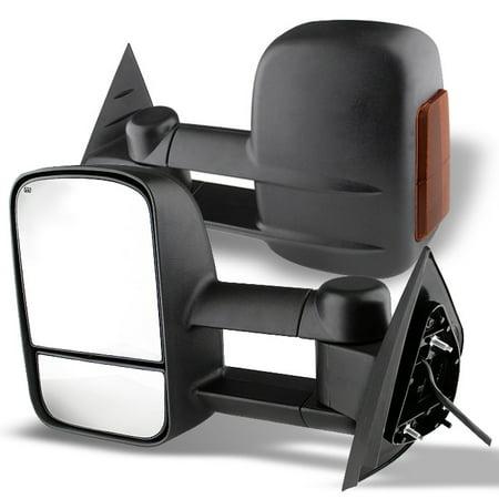 Telescoping Tow Mirror (Fit 2007-2013 Tahoe / Silverado Telescoping Tow Mirrors Power + Heated +)