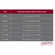OTC Lumbosacral Orthosis Support, Heavy Duty Back Brace, TruTEK