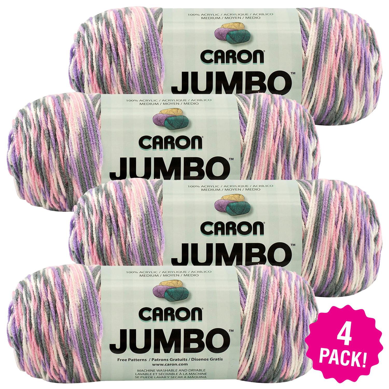 Caron Jumbo Print Yarn - Easter Basket, Multipack of 4