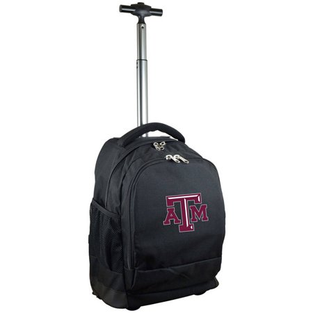 Mojo Licensing Premium Wheeled Backpack - Texas A&M ()