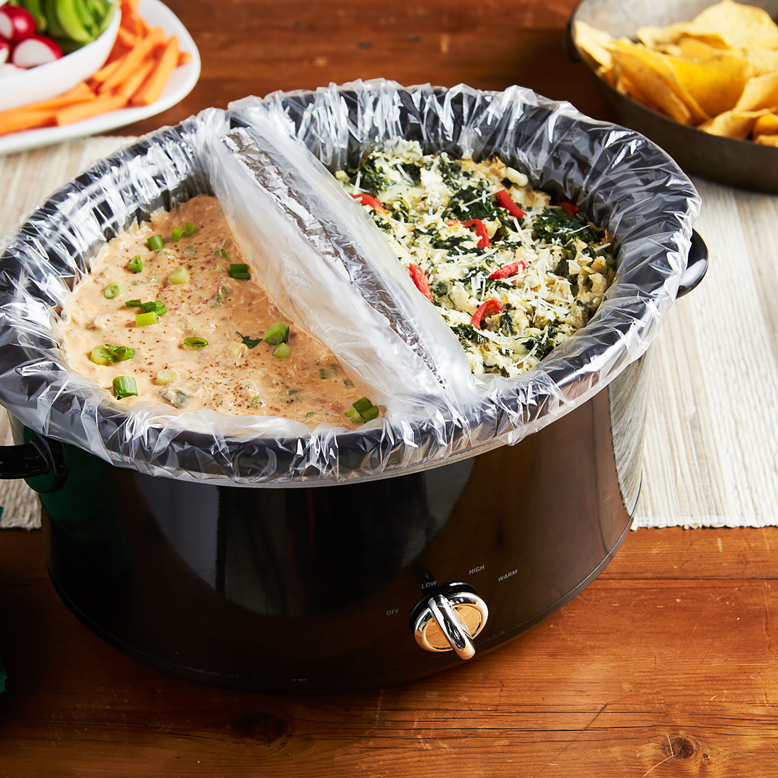 Can you use a crockpot liner as an oven bag