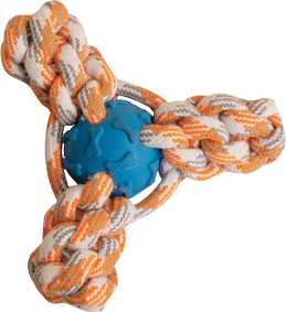 Snugarooz-Snugz Mini Fling N' Fun Rope Toy- Assorted 4 Inch