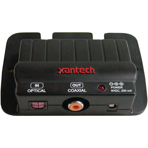 Xantech Cpltcx Optical-To-Coaxial Digital Audio Coupler
