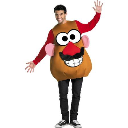 Mr Mrs Potato Head Halloween Costumes (Morris Costumes Mr Potato Head Dlx Adult)