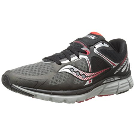 Saucony Mens Running Shoes Black/Grey/Red