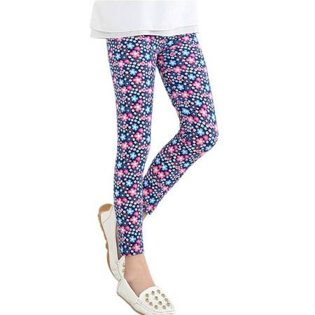 Baby Kids Childrens printing Flower Toddler Classic Leggings Girls Pants Girls Legging 2-14Y Baby Girl Leggings](Girls Flower Leggings)
