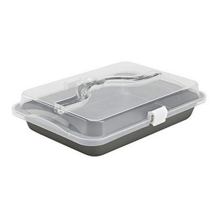 Oneida Cake Pan With Cover And Handle Walmart Com