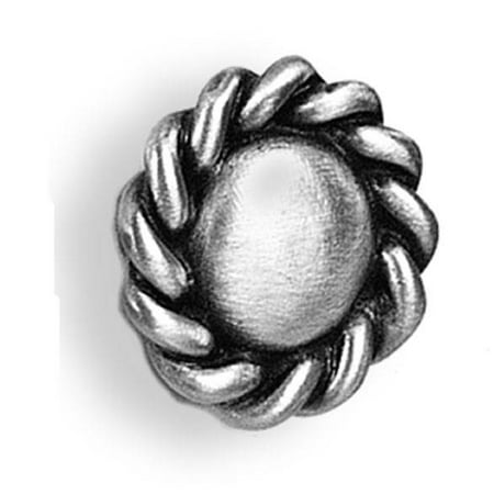 Roguery New Small knob Set of 10 Pewter Bright
