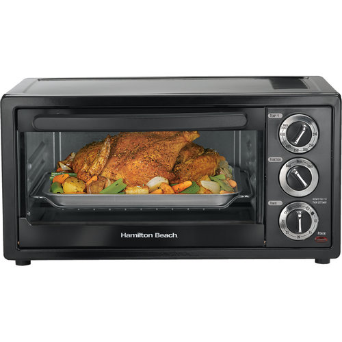 Hamilton Beach 6 Slice Toaster Oven With 12 Quot Pizza