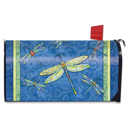 Dragonfly Flight Spring Mailbox Cover Dragonflies Standard Briarwood Lane (Spring Mail Box Cover)