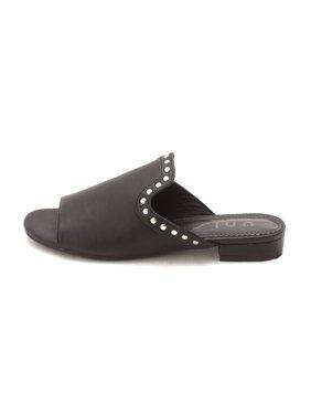 ac2bc9078 Product Image Unisa Womens Kilian Open Toe Casual Slide Sandals, Black Ll,  Size 6.0