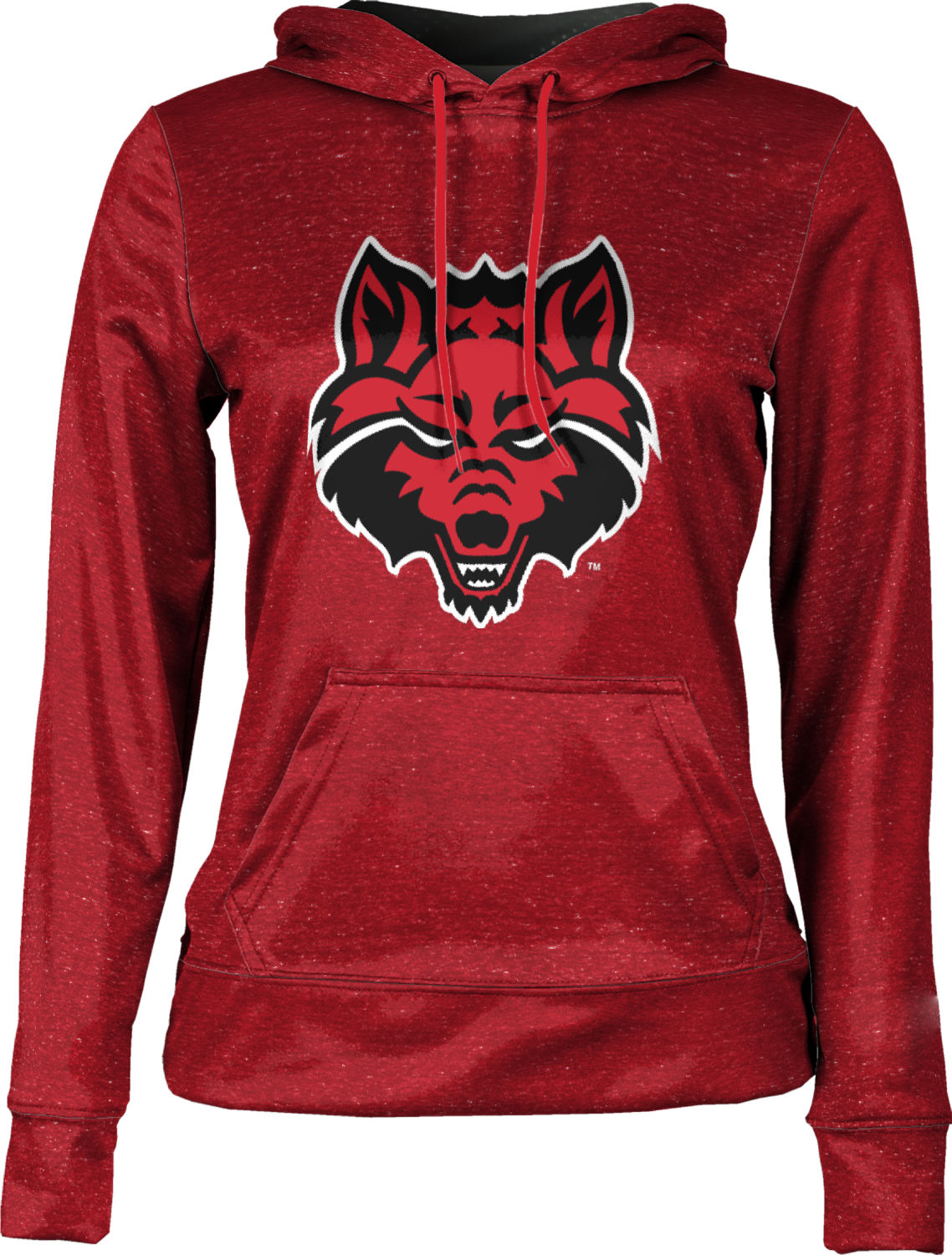 ProSphere Arkansas State University Boys Full Zip Hoodie Heather