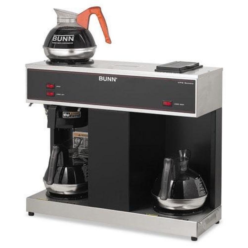 BUNN-O-MATIC Pour-O-Matic Three-Burner Pour-Over Coffee B...