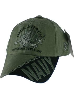 Product Image Navy Shellback Crossing The Line Mens Cap  Dark Navy Blue -  Adjustable  ff77e8f04cf