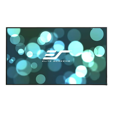 Elite Screens Aeon AUHD Series, 120-inch 16:9, 4K Home Theater Fixed Frame EDGE FREE Borderless Projection Sound Transparent Perforated Weave Projector Screen, AR120H2-AUHD