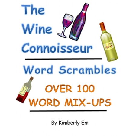 The Wine Connoisseur Word Scrambles: Over 100 Word Jumbles - eBook](Halloween Word Jumbles)