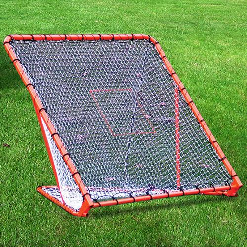 New England Outdoor & Recreational Products LLC. Lacrosse Folding Goal with Tilting Throwback by Overstock