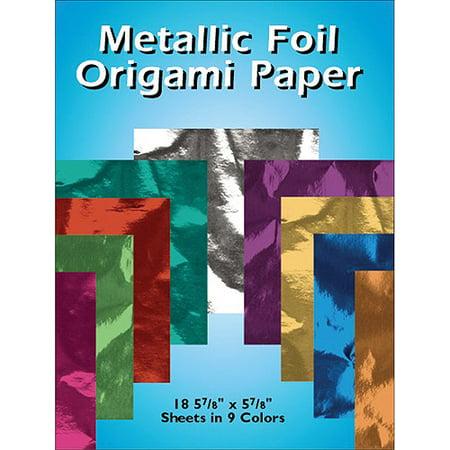 Foil Origami Paper (Dover Metalic Foil Origami Paper )