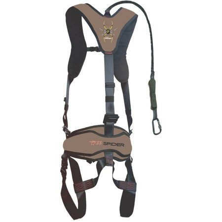 Venom Safety Treestand Climbing Harness with Carabiner and Tree Strap ScentBlocker, One Size Fits Most ()