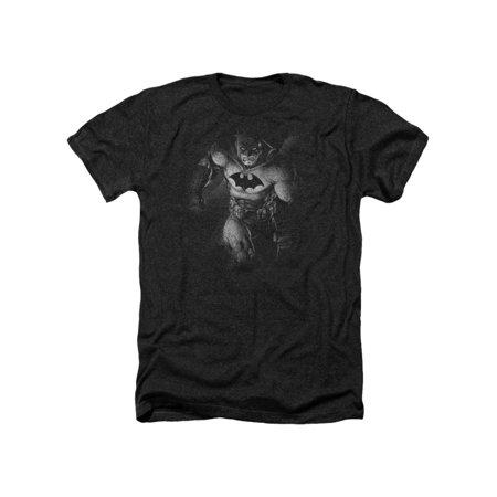 Batman DC Comics Darkest Days Superhero Adult Heather T-Shirt Tee