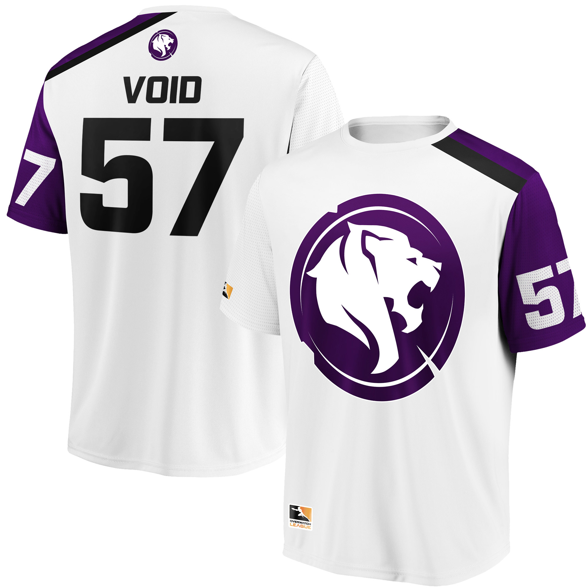 Void Los Angeles Gladiators Overwatch League Replica Away Jersey - White