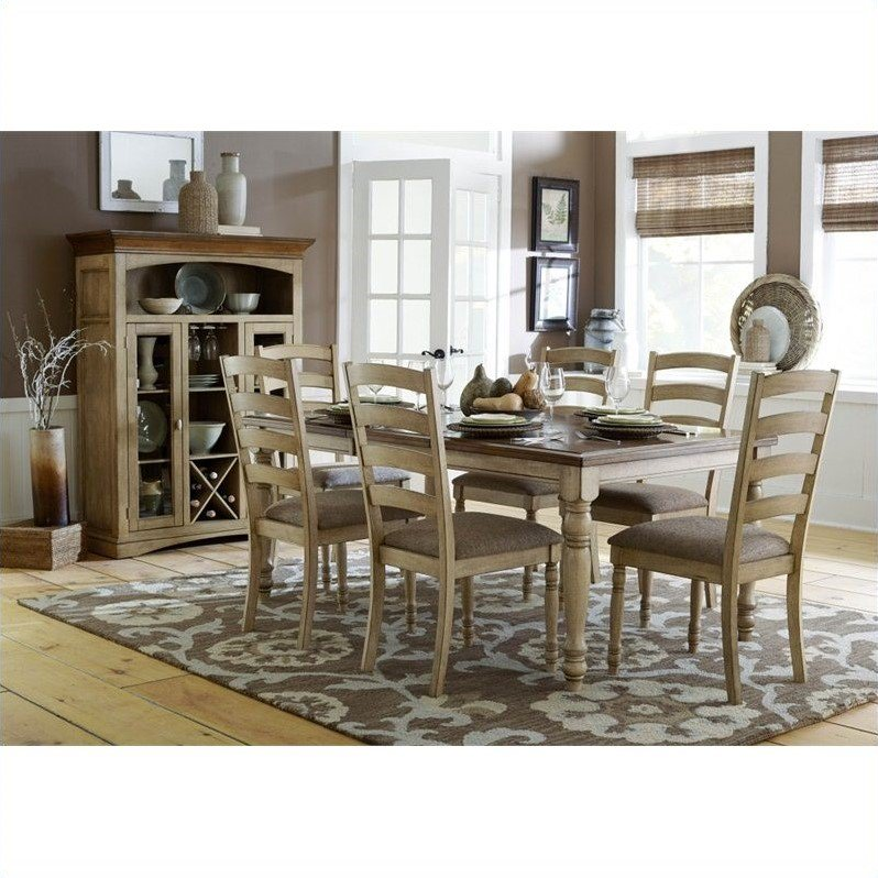 Trent Home Nash Dining Table with Solid Wood Top and Butterfly Leaf